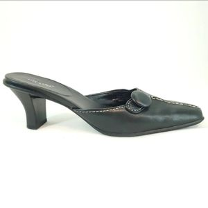 Nicole Slide-0n Leather Pumps size 7½